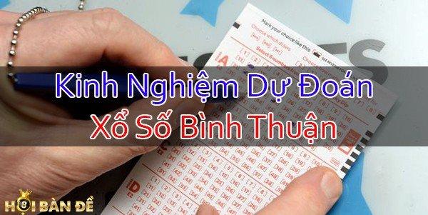Dự Đoán Xổ Số Bình Thuận - Quay Thử XS Bình Thuận