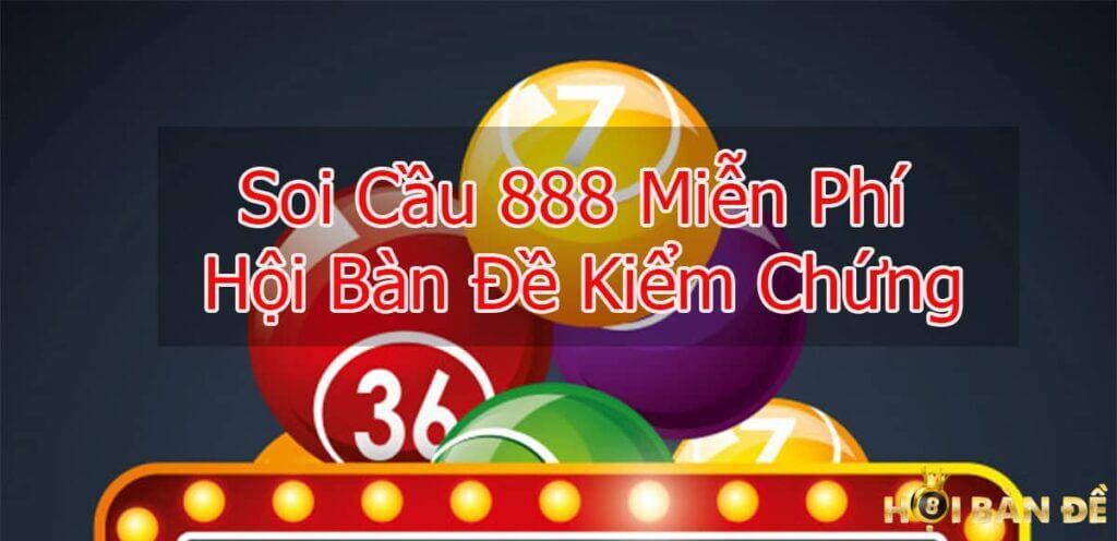 Soi cầu 888