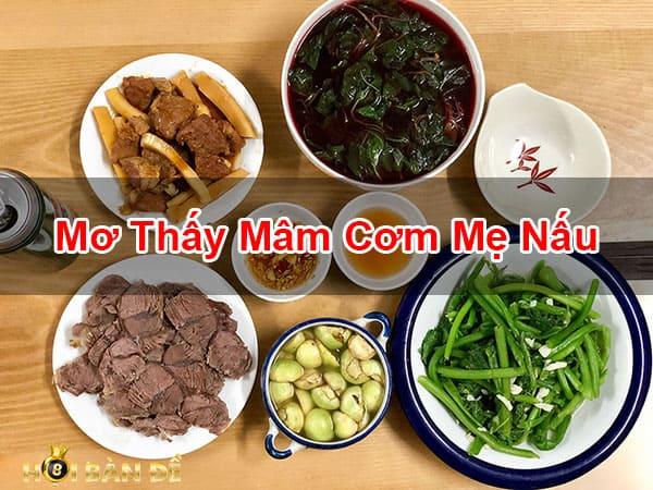 Nam-Mo-Thay-Mam-Com-Danh-Con-Gi-Trung-Lon