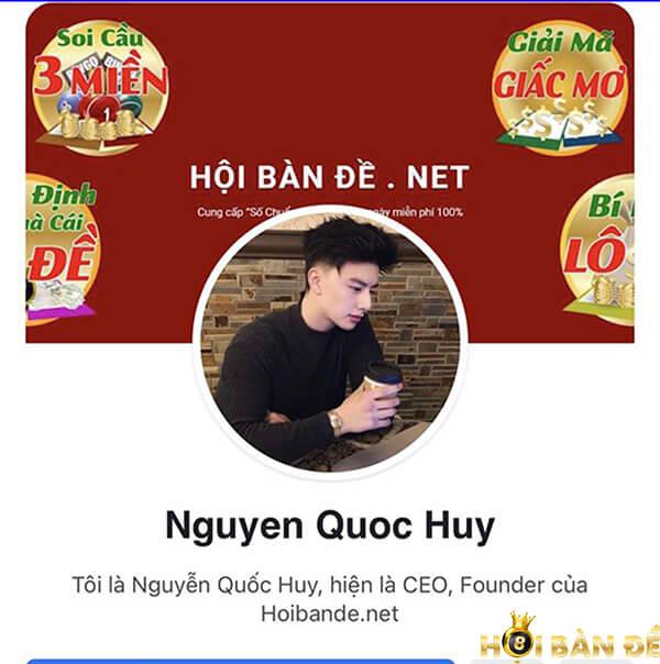 Chia sẻ soi cầu admin từ Nguyễn Quốc Huy